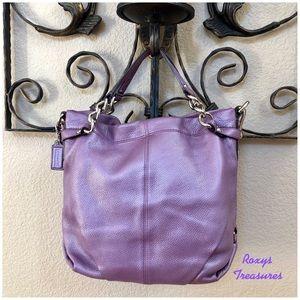 Coach Pebbled Leather Brooke #17165 Shoulder Bag